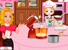 Lizzy Cooking with Mom