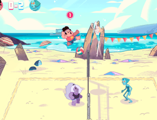 Steven Universo - Beach City Voleibol GP