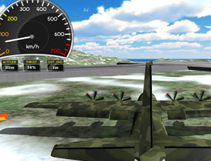 Flight Simulator C-130 Training