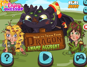 How to Train your Dragon - Swamp Accident