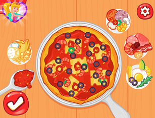 Republish Princesses Pizza Party