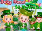Baby Hazel St Patricks Day