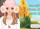 Beautiful Winter Hats Make Up