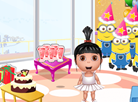 Agnes's Birthday Decoration Room