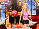 Barbie's Christmas Makeup Trends