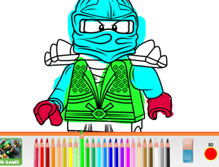 LEGO Ninjago Pencil Coloring