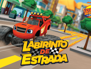 Blaze and the Monster Machines - Labirinto de Estrada