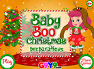Baby Boo Christmas Preparations