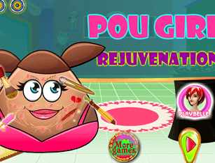 Pou Girl Rejuvenation
