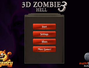 3D Zombie Hell 3
