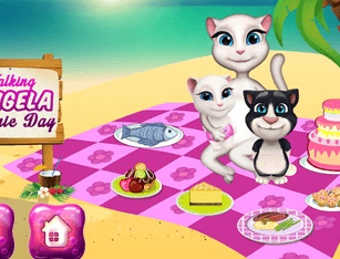 Talking Angela Picnic Day