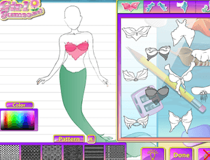 Fashion Studio – Mermaid