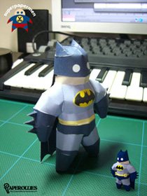 Bonequinho de papel do Batman