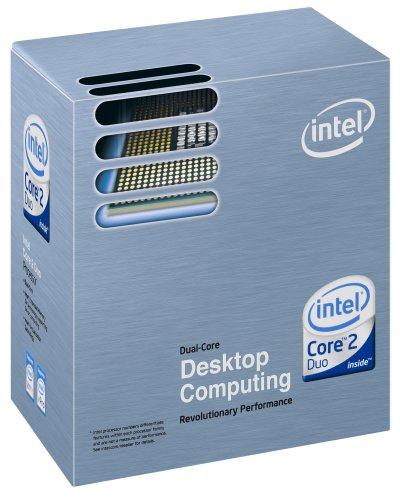 Caixa padrão dos processadores Intel Core 2 Duo