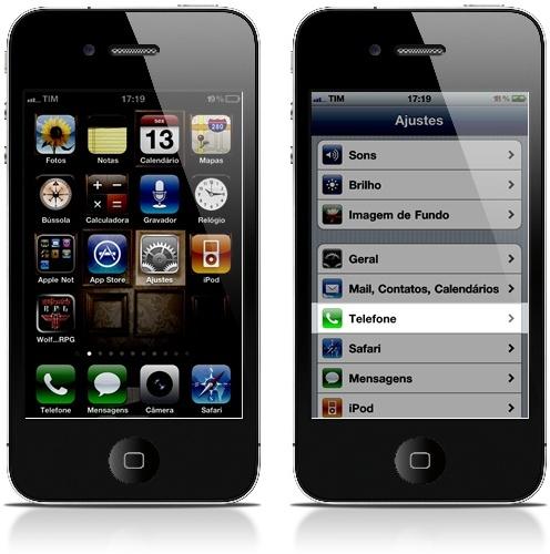 No iPhone também é possível