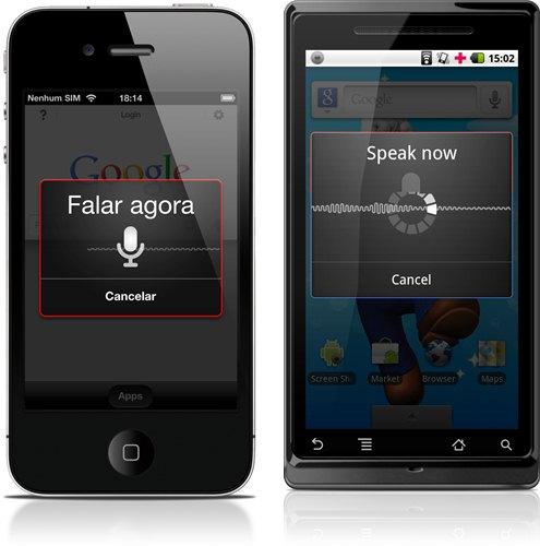 iOS e Android já contam com a busca por voz do Google