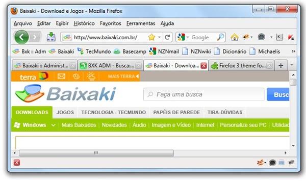 Firefox 3 Theme for Firefox