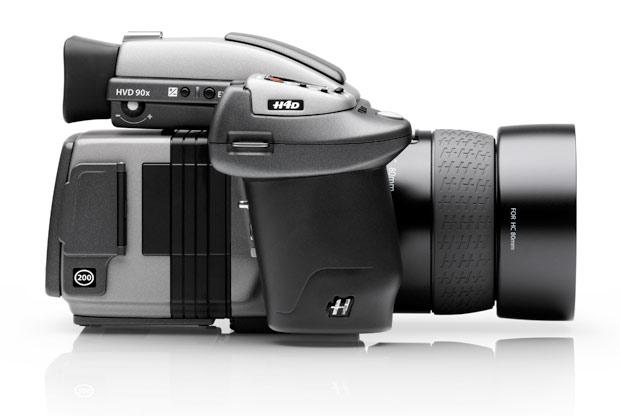 câmera digital H4D-200MS Hasselblad