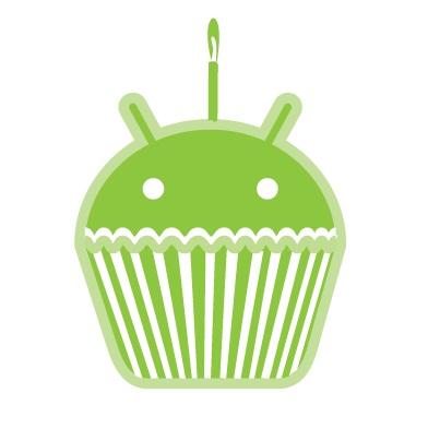 Cupcake, o primeiro Android batizado com um nome divertido