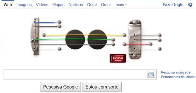 » Curiosidade: Toque guitarra com o Google - Les Paul