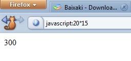 Fazendo cálculos no Firefox