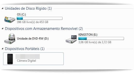 Meu Computador no XP ou Computador no Windows Vista e 7
