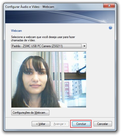 Configurações de vídeo no Windows 7