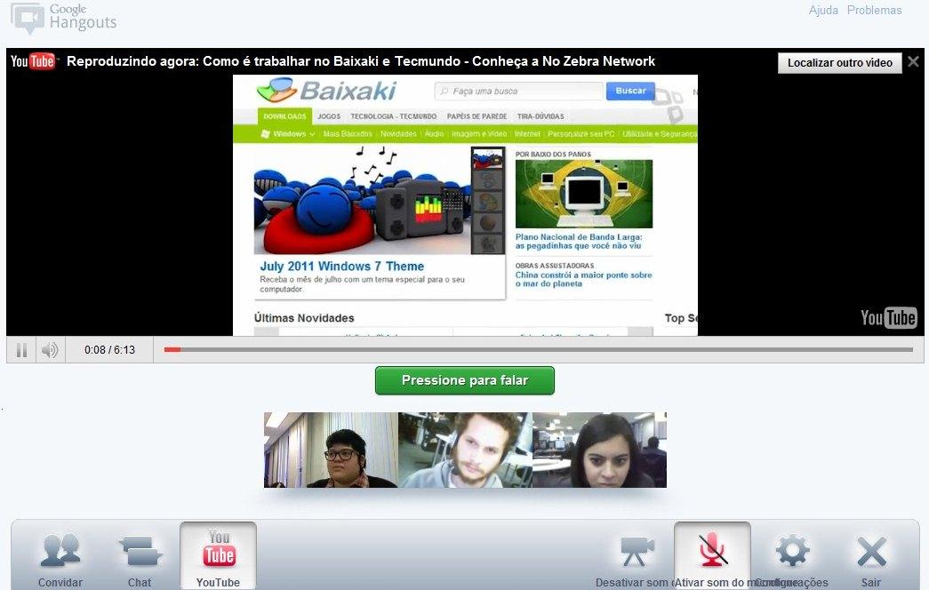 Google+: como usar o Hangout para fazer videoconferência