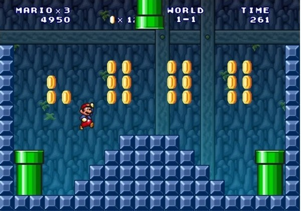 Mario Forever.
