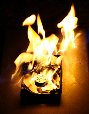 HD pegando fogo