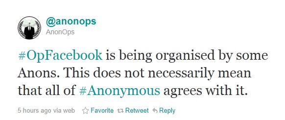 Anonymous quer destruir Facebook no dia 5 de novembro