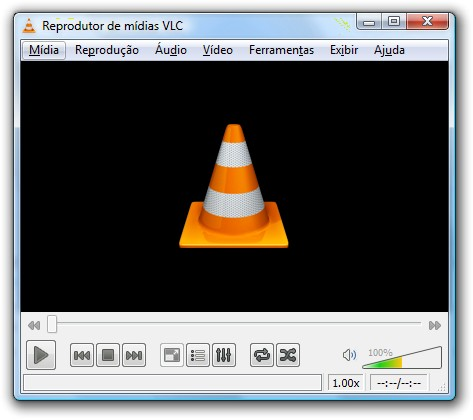 Reprodutor de mídias VLC
