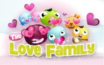 Uma verdadeira família de amorosos!