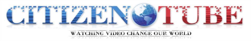 O CitizenTube é responsável por postar e agregar vídeos que você não veria na televisão aberta!
