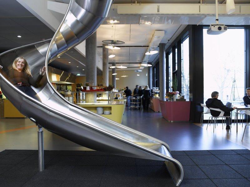Filial Google em Zurich - Suíça