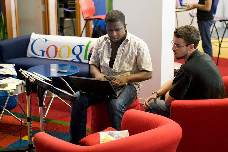 Filial Google em Chicago - Estados Unidos