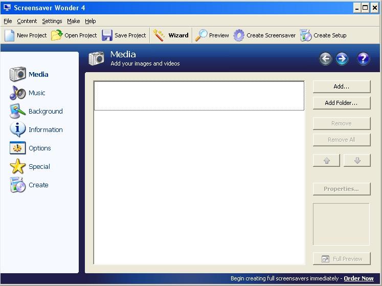 Crie um arquivo para instalação do seu screensaver!