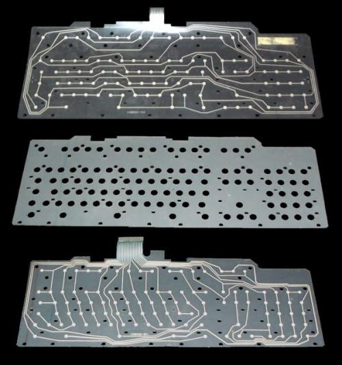 As matrizes de um teclado PS-2