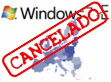 A versão européia, sem o IE 8 foi cancelada.