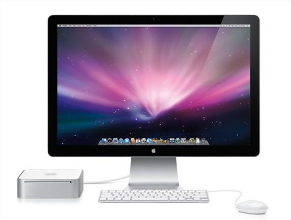 o MIni Mac verde da Apple
