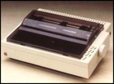 Impressora matricial da Apple.