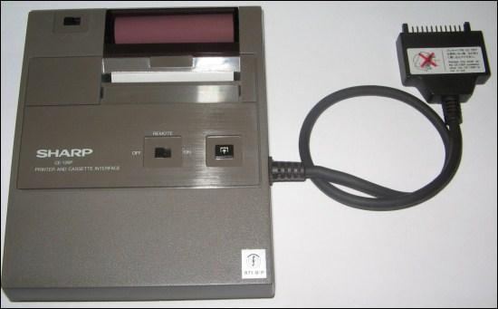 Impressora térmica da sharp