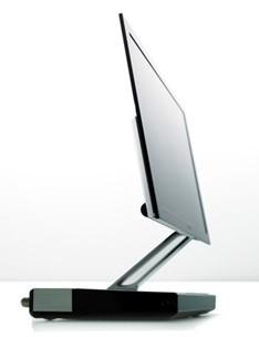 Imagem de divulgação de modelo OLED da Sony.
