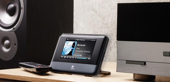 Novos eletr nicos squeezebox touch tecmundo for Chaine hifi salon