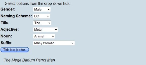 Nome de super-herói (clique para acessar)
