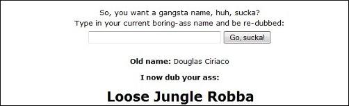 Nome de bandido (clique para acessar)