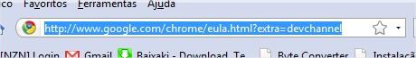 Verifique se o link do download é realmente este
