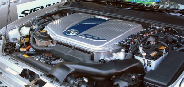 Carro da Toyota movido a hidrogênio. Foto: Kjkolb