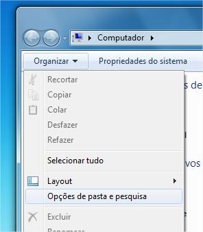 Adicione o menu principal para usufruir dos botões do antigo Explorer.