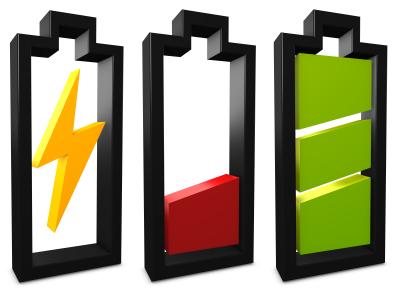 Quanto maior a  duração da bateria, menos tempo seu notebook fica na tomada.